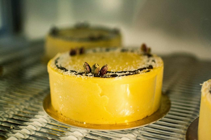 Torta Gelato Mango Pistacchio Cocco Pico Gelato