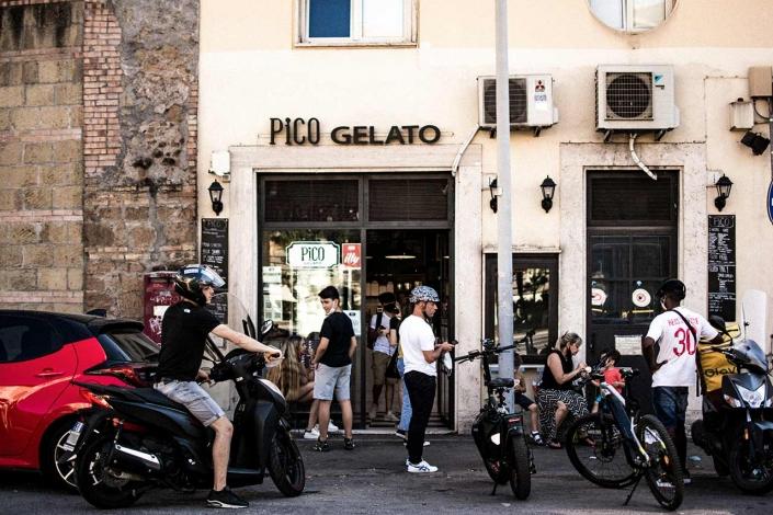 Entrata Pico Piazza Bologna - Largo XXI Aprile 1